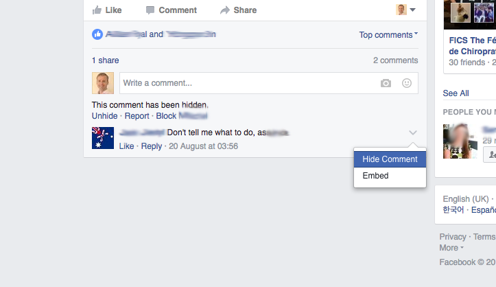 Managing Negative Comments on Your Facebook Ads