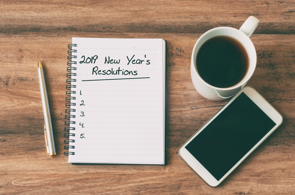 Tap Into New Year's Resolutions